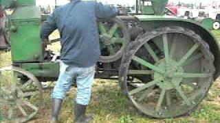 International plowing match -hit and miss engines and old tractor starting