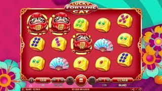 Lucky Fortune Cat - Habanero Video Slot screenshot 4
