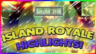 ISOLA ROYALE HIGHLIGHTS! 609 METRI SNIPE! (ROBLOX)