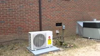 Video Trane 27 seer mini split heat pump by Joe Burns Heating and Air LLC download MP3, 3GP, MP4, WEBM, AVI, FLV Agustus 2018