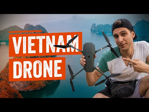 How to TRAVEL with a DRONE -  VIETNAM