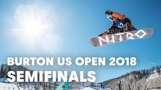 LIVE - Snowboarding Slopestyle Semifinals at Burton US Open 2018 - Men's Semifinals