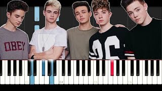 Why Don't We - Something Different (Piano Tutorial )