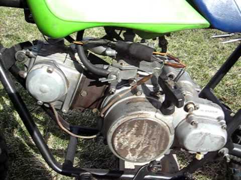 Rupp Mini Bike W Hoda 3 Wheeler Engine Youtube