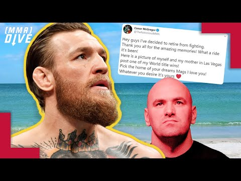 The Real Reason Conor McGregor Retired