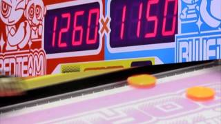 Pac-man Smash 4-person Arcade Air Hockey Game