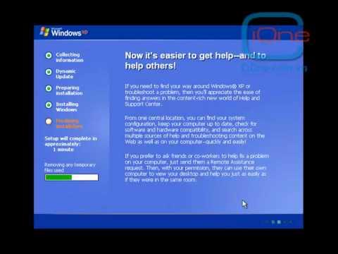 Hướng dẫn cài đặt hệ điều hành Windown XP Professional - Phần 2