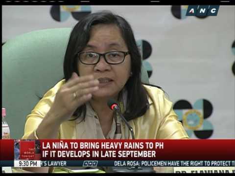 La Niña may bring heavy rains by late September