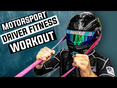 Professional Motorsport Driver Workout Exercises!