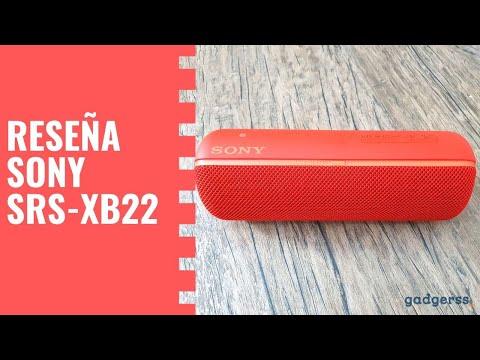 Reseña altavoz Sony SRS-XB22 (Review en español)