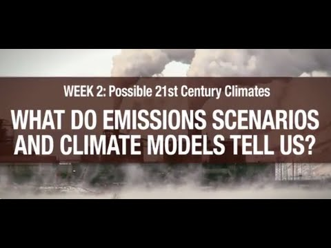 What Do Emission Scenarios and Climate Models Tell Us