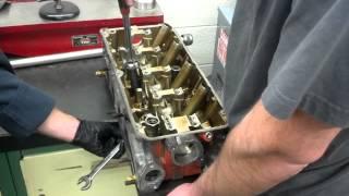 How to straighten a warped cylinder head