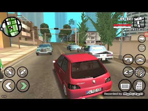 GTA SAN ANDREAS PEUGEOT 106 GTİ/İLE GEZİYORUZ