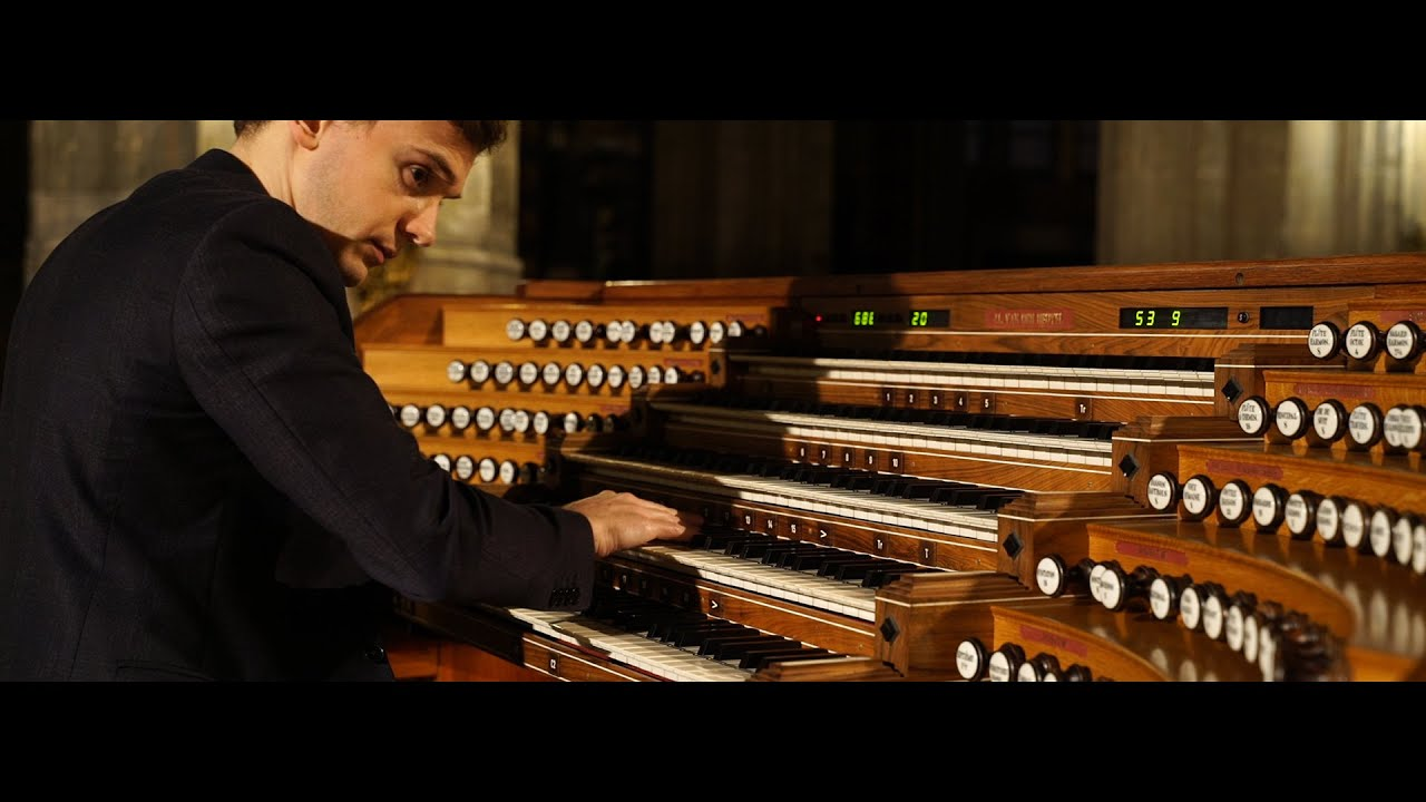 Thomas Ospital plays Maurice RAVEL - Ma mère l'Oye on St. Eustache organ