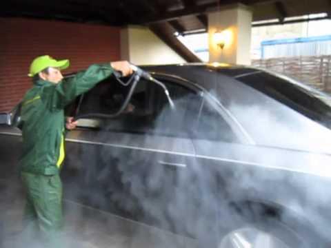 Twist Mobile Steam Car Wash Youtube