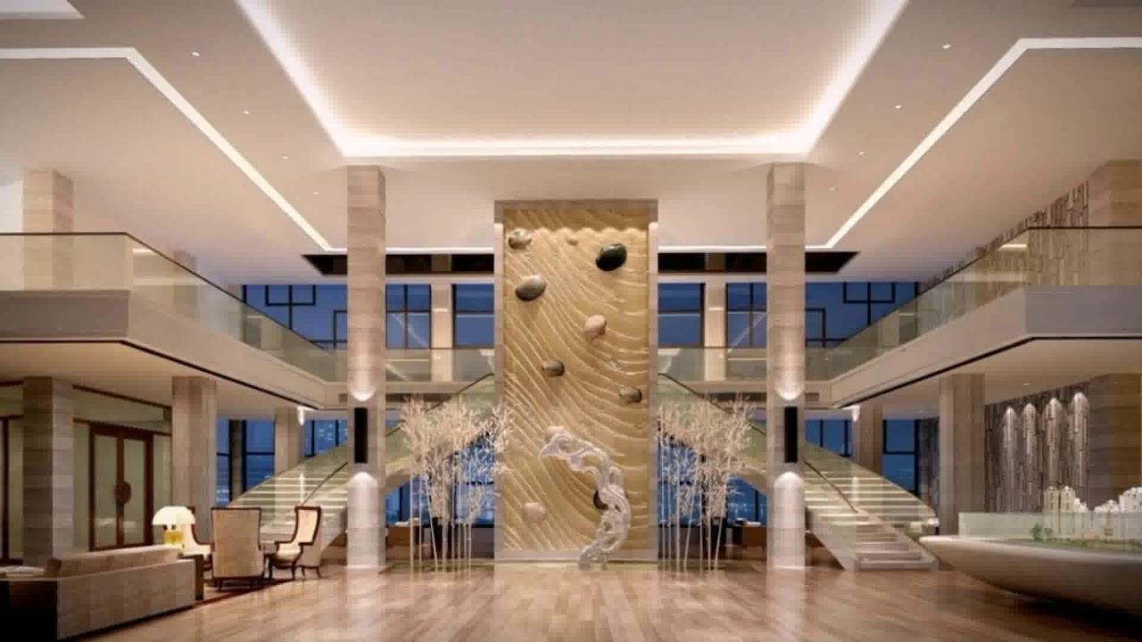 Small Home Lobby Interior Design - YouTube