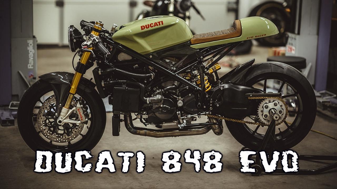 Ducati 848 Evo Cafe Racer