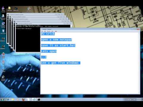 notepad codes tricks hacks