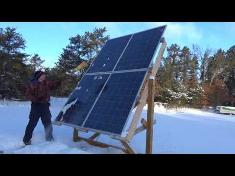 Great Solar Power At The Off Grid Homesteaed