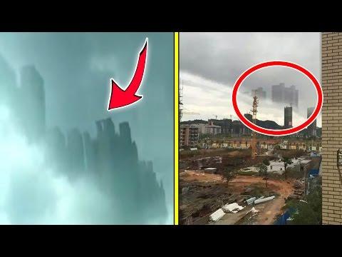 ► ► EDIFICIOS FANTASMA aparecen en China / La ciudad flotante en Guangdong