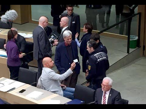 Aufruhr Im Landtag: AfD Abgeordnete Gedeon Und Räpple Des Saales Vewiesen