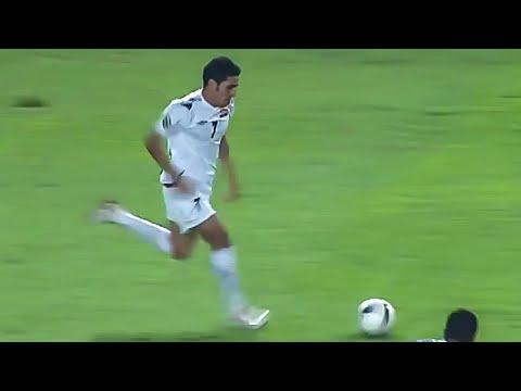 علي عباس ضد السعودية ( نهائي كاس اسيا 2007)