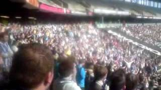Right Side Left Side Brighton Boys Chant at MK