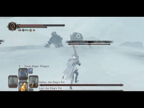 黑暗靈魂2 : 原罪哲人#53 DLC(2)『白王之王冠』雪地遠征x王寵拉鐸x王寵札連