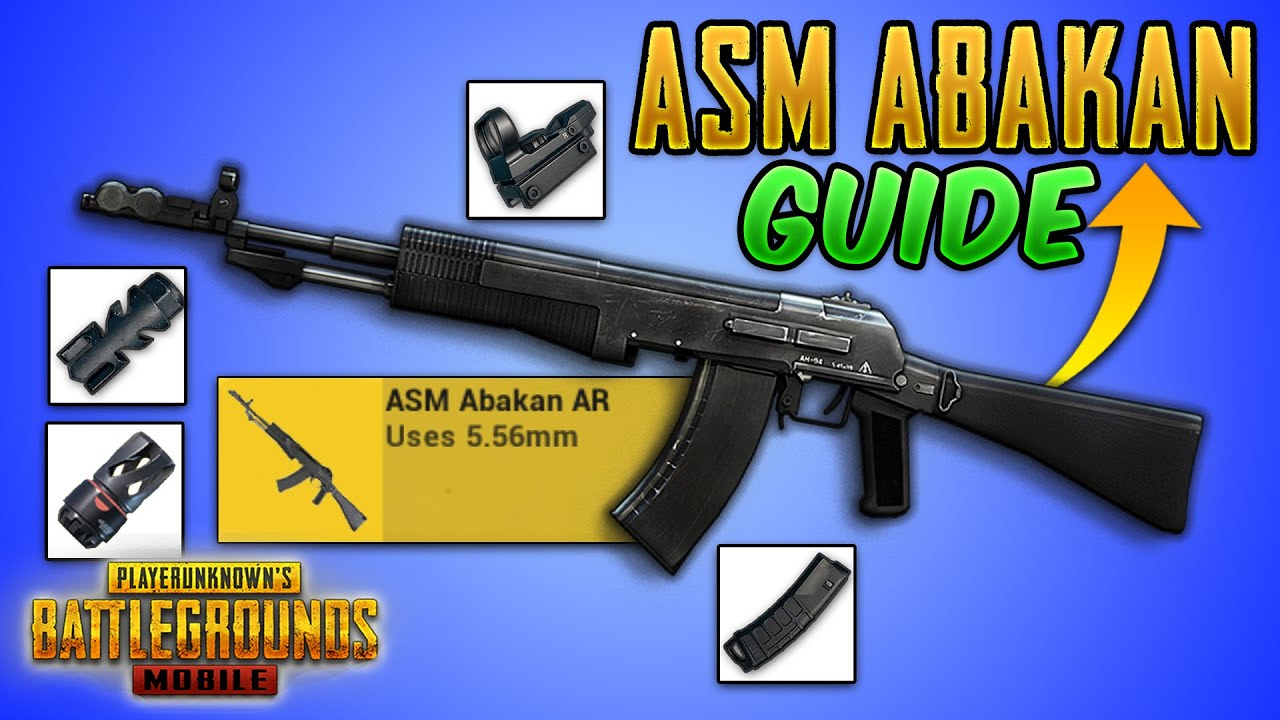 NEW ASM Abakan in PUBG MOBILE & BGMI Guide/Tutorial/Review (Tips and Tricks) IGNITION Mode