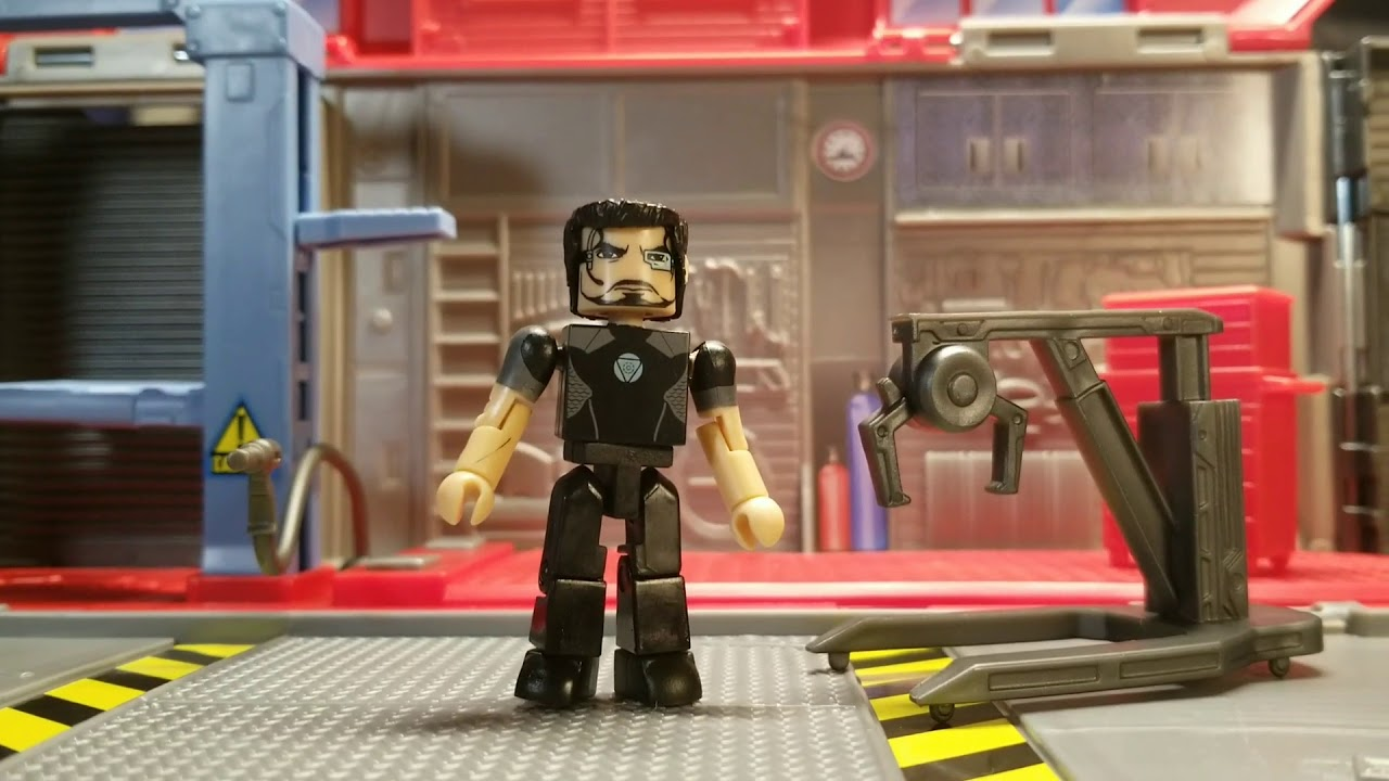 Fast And Furious Doms Garage For Minimates Youtube
