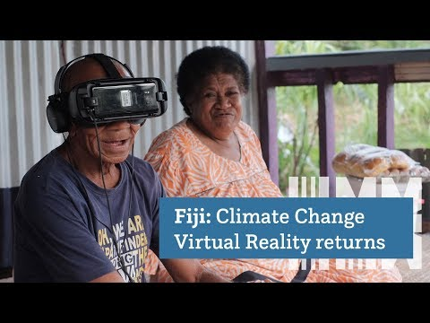 A Climate Change Virtual Reality Experience Goes Home: 'Our Home, Our People' Returns to Fiji