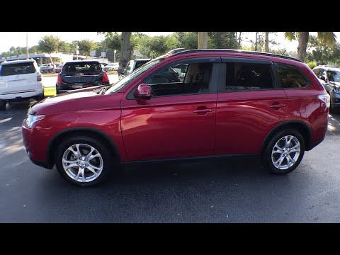 2015 Mitsubishi Outlander Gainesville, Ocala, Lake City, Jacksonville, St Augustine, FL 7821A