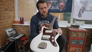 UNBOXING Squier Vintage Modified Jazzmaster Review Demo