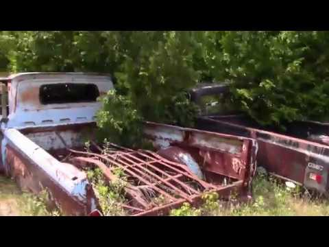 I FOUND A HONEY HOLE some of these cars have not moved in 50 years