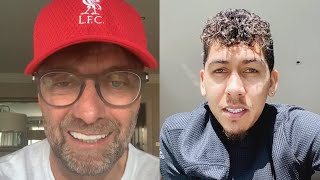 A message from Liverpool FC to health workers around the world | Jürgen Klopp