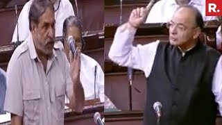 Arun Jaitley Vs Anand Sharma In Rajya Sabha Over IT-Raids