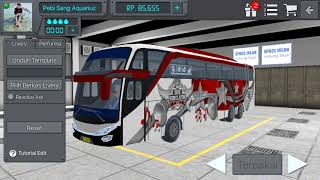 cara edit skin kaca di game bus simulator indonesia 2017