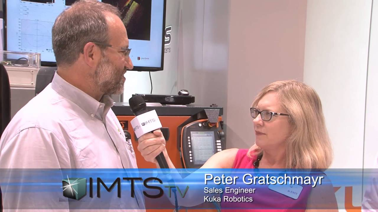 IMTS TECH 2016: KUKA Robotics