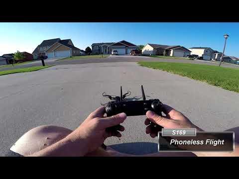 huishutek-s169-drone-test