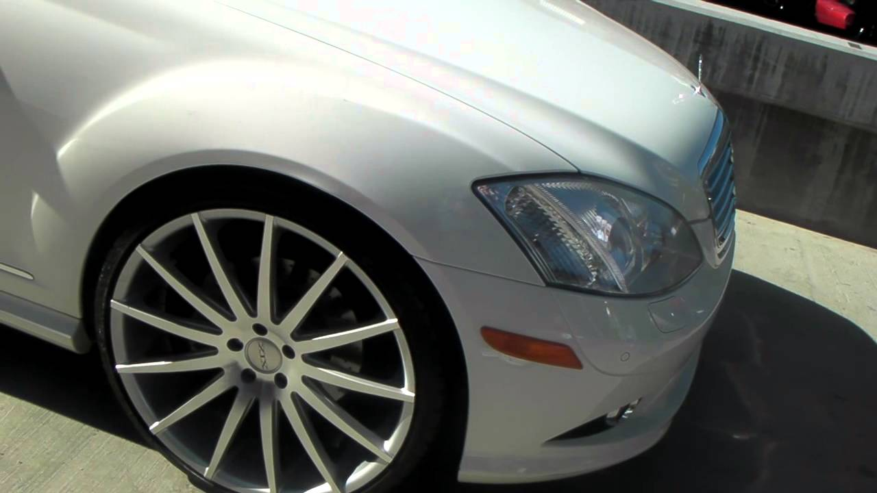 Dubsandtires Com 22 Xix Silver Wheels 2012 Mercedes S550