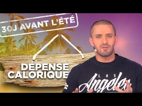 CHALLENGE 30J AVANT L'ETE - J24: DÉPENSE CALORIQUE