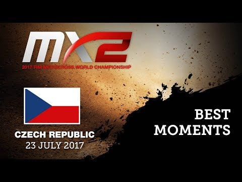 Best Moments MX2 Qualifying Race_MXGP of Czech Republic 2017