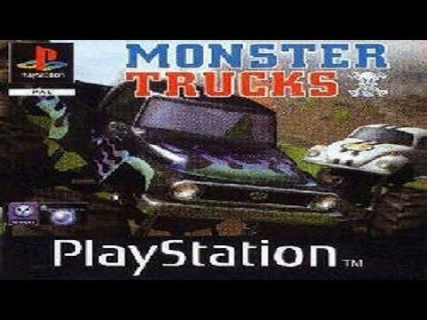 Let's Retro (20) - Monster Trucks AKA Thunder Truck Rally (Playstation)