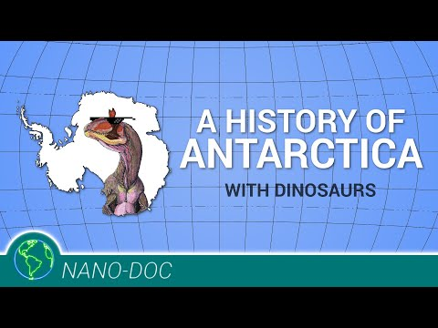 A History of Antarctica, w/ Dinosaurs
