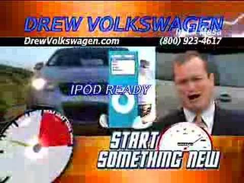 Volkswagen car dealership in La Mesa, California