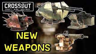 Crossout -- New Weapons First Look -- Patch 9.60 Overview -- Knight Rider Event