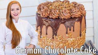 The BEST German Chocolate Cake