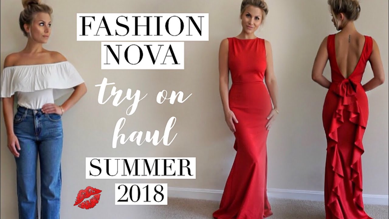 6f45e5a9fad Fashion Nova summer outfits try on Haul june 2018