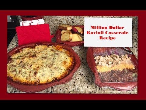 Miliion Dollar Ravioli Casserole Recipe