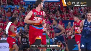 Perth Wildcats 100 def. Adelaide 36ers 81 Highlights - 25 January 2019